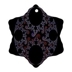 Fractal Complexity Geometric Ornament (Snowflake)