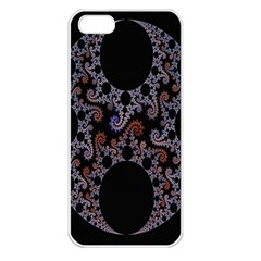 Fractal Complexity Geometric Apple Iphone 5 Seamless Case (white)