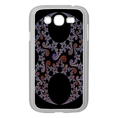 Fractal Complexity Geometric Samsung Galaxy Grand DUOS I9082 Case (White)