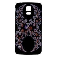 Fractal Complexity Geometric Samsung Galaxy S5 Back Case (White)