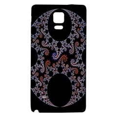Fractal Complexity Geometric Galaxy Note 4 Back Case