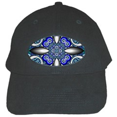 Fractal Cathedral Pattern Mosaic Black Cap