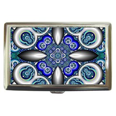 Fractal Cathedral Pattern Mosaic Cigarette Money Cases