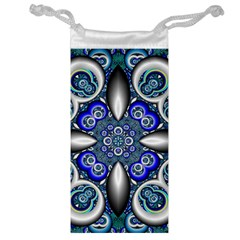 Fractal Cathedral Pattern Mosaic Jewelry Bag