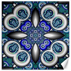 Fractal Cathedral Pattern Mosaic Canvas 16  x 16