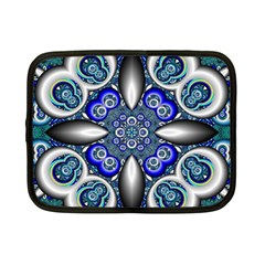 Fractal Cathedral Pattern Mosaic Netbook Case (Small)