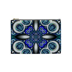 Fractal Cathedral Pattern Mosaic Cosmetic Bag (Medium)