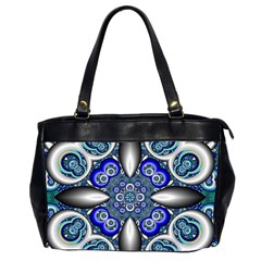 Fractal Cathedral Pattern Mosaic Office Handbags (2 Sides)