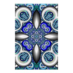 Fractal Cathedral Pattern Mosaic Shower Curtain 48  x 72  (Small)