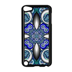 Fractal Cathedral Pattern Mosaic Apple iPod Touch 5 Case (Black)