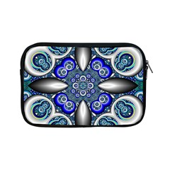 Fractal Cathedral Pattern Mosaic Apple iPad Mini Zipper Cases
