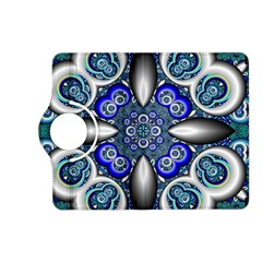 Fractal Cathedral Pattern Mosaic Kindle Fire HD (2013) Flip 360 Case