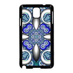 Fractal Cathedral Pattern Mosaic Samsung Galaxy Note 3 Neo Hardshell Case (black)
