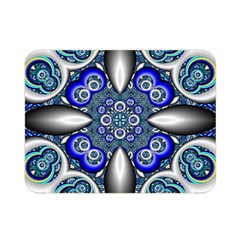 Fractal Cathedral Pattern Mosaic Double Sided Flano Blanket (Mini)