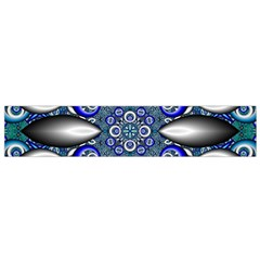 Fractal Cathedral Pattern Mosaic Flano Scarf (small)