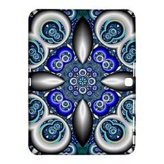 Fractal Cathedral Pattern Mosaic Samsung Galaxy Tab 4 (10 1 ) Hardshell Case