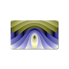 Fractal Eye Fantasy Digital Magnet (name Card)
