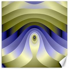 Fractal Eye Fantasy Digital Canvas 16  X 16