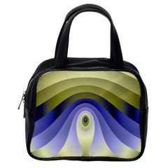 Fractal Eye Fantasy Digital Classic Handbags (one Side)