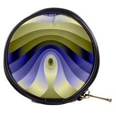 Fractal Eye Fantasy Digital Mini Makeup Bags