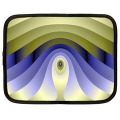 Fractal Eye Fantasy Digital Netbook Case (XXL)