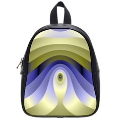 Fractal Eye Fantasy Digital School Bags (Small)