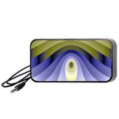 Fractal Eye Fantasy Digital Portable Speaker (Black)