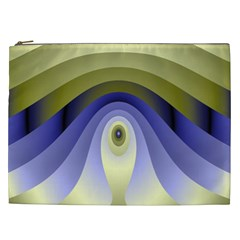 Fractal Eye Fantasy Digital Cosmetic Bag (xxl)