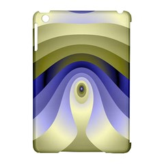 Fractal Eye Fantasy Digital Apple iPad Mini Hardshell Case (Compatible with Smart Cover)