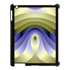 Fractal Eye Fantasy Digital Apple Ipad 3/4 Case (black)