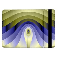 Fractal Eye Fantasy Digital Samsung Galaxy Tab Pro 12 2  Flip Case