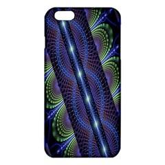 Fractal Blue Lines Colorful iPhone 6 Plus/6S Plus TPU Case