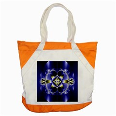 Fractal Fantasy Blue Beauty Accent Tote Bag