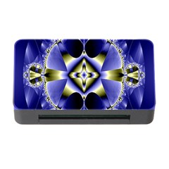 Fractal Fantasy Blue Beauty Memory Card Reader With Cf