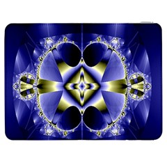 Fractal Fantasy Blue Beauty Samsung Galaxy Tab 7  P1000 Flip Case
