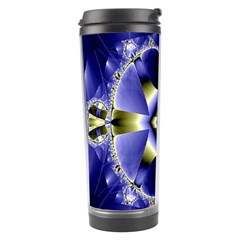 Fractal Fantasy Blue Beauty Travel Tumbler