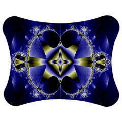 Fractal Fantasy Blue Beauty Jigsaw Puzzle Photo Stand (Bow)