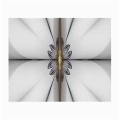 Fractal Fleur Elegance Flower Small Glasses Cloth (2 Side)