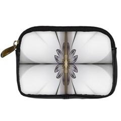 Fractal Fleur Elegance Flower Digital Camera Cases