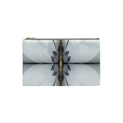 Fractal Fleur Elegance Flower Cosmetic Bag (Small)