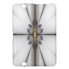Fractal Fleur Elegance Flower Kindle Fire HD 8.9