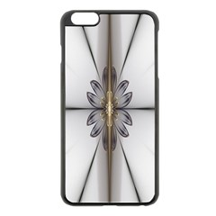 Fractal Fleur Elegance Flower Apple Iphone 6 Plus/6s Plus Black Enamel Case