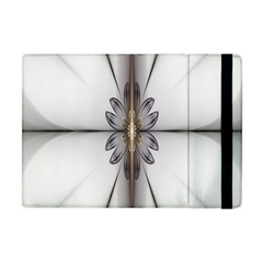 Fractal Fleur Elegance Flower Apple iPad Mini Flip Case