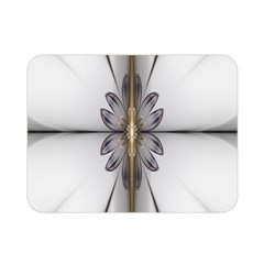 Fractal Fleur Elegance Flower Double Sided Flano Blanket (Mini)