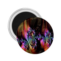 Fractal Colorful Background 2 25  Magnets