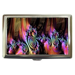 Fractal Colorful Background Cigarette Money Cases