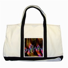 Fractal Colorful Background Two Tone Tote Bag