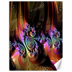 Fractal Colorful Background Canvas 18  x 24
