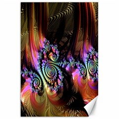 Fractal Colorful Background Canvas 20  x 30