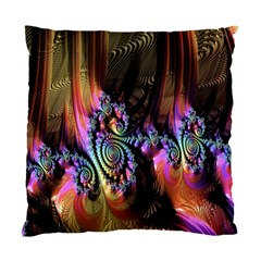 Fractal Colorful Background Standard Cushion Case (Two Sides)